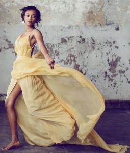 Barbizon Manhattan graduate Niara booked an editorial shoot