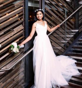 Barbizon Manhattan graduates Christine, Taylor and Solanli booked a bridal photoshoot2