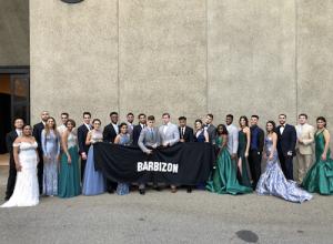 Barbizon Models walking in the 2018 Sacramento Cal Expo Bridal Showcase
