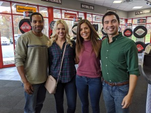 Barbizon NEPA grads Michael Gomez and Hannah Dibble were both cast in a commercial for Goodyear under ADM Productions out of Long Island