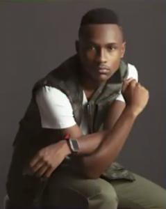 modeling shot of Joshua posing