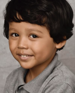 Barbizon PA alum Enoch T shot two toy commercials one for Fingerlings Hugs and the other for Pinkfong Baby Shark