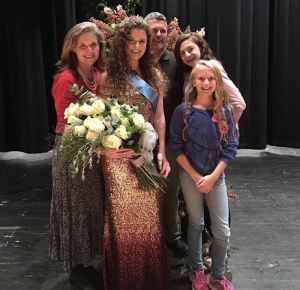 Barbizon PA alum Mary Secord was crowned 2017 Dillsburg Farmers Fair Queen