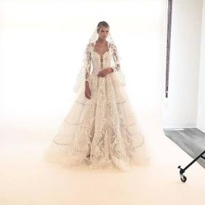 Barbizon PA alum McKenzie Henry booked a wedding shoot for Blush Bridal Dream Weddings
