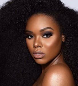 Barbizon PA grad Candice Sabiduria modeled for Black Opal Beauty