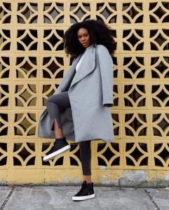 Barbizon PA grad Candice Sabiduria modeled for CARIUMA