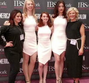 Barbizon PA grad Danielle Botkin booked an IBS hair show for JOICO