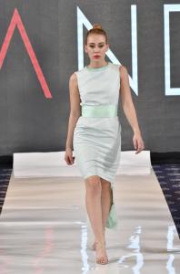 Barbizon PA grad Gracie Steiner walked in DC Fashion Week