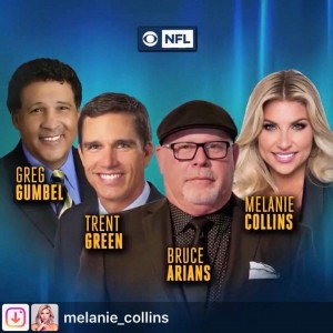 Barbizon PA grad Melanie Collins will be a sideline reporter during the upcoming NFL season on CBS Sports