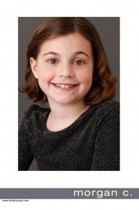 Barbizon PA grad Morgan was cast as Phineous Troutman in Trinity High School's production of Willy Wonka