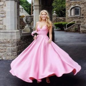 Barbizon PA grad Rory Noble modeled for Sherri Hill Renaissance Bridals and Prom