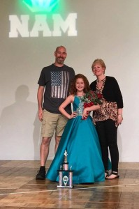 Barbizon PA grads Bree M., Willow H. and Izabel S. competed and placed in the National American Miss Pageant