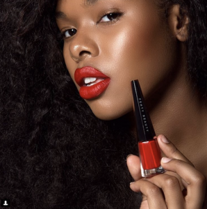 Barbizon PA model Candice modeled for Fenty Beauty