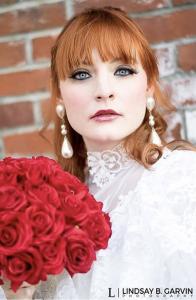 Barbizon PA model Jenna Grat booked a bridal shoot