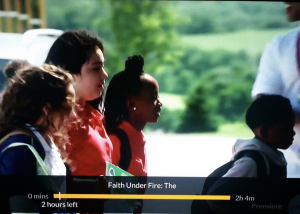 Barbizon Pa grad Paighton Yekel is in the Lifetime TV movie Faith Under Fire