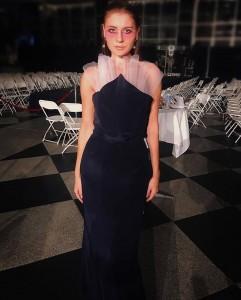 Barbizon Pittsburgh model Natalie Holovatyuk walked in Pittsburgh Fashion Week