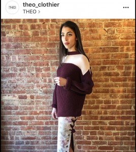 Barbizon Red Bank Model Alexis for Theo