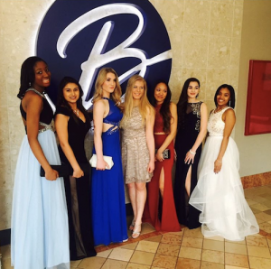 Barbizon Red Bank Models at the Woodbridge Center Mall Prom Fashion Show