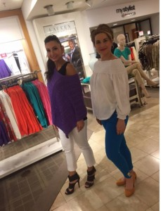 Barbizon Red Bank Women's Division models Kim and Magdalena booked a Ralph Lauren event at Macy's in Monmouth