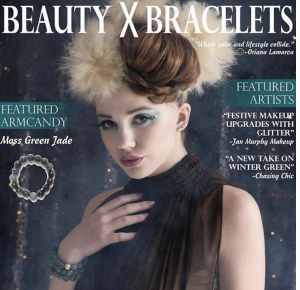 Barbizon Red Bank alum Gina is on the cover of Beauty X Bracelets