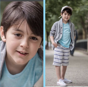 Barbizon Red Bank child model Nicholas appears in a Panera Bread commercial