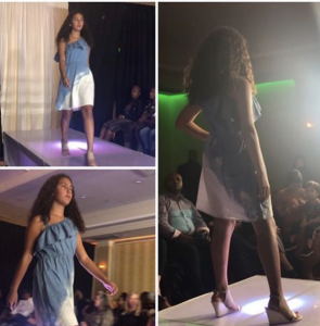 Barbizon Red Bank grad Alexis Alvarado walked in New York Fashion Week