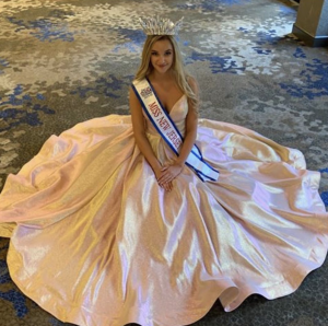Barbizon Red Bank grad Devin Quinlisk was crowned Young Miss New Jersey at the East Coast USA Pageant