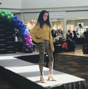 Barbizon Red Bank grads walked in the Ocean County Mall Kids Fashion Show
