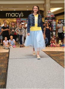 Barbizon Red Bank kid models walked in the Back to School Bash Fashion Show at Ocean County Mall1