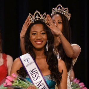 Barbizon Red Bank model Eddia was crowned Miss Northeast Earth United States 2017