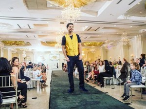 Barbizon Red Bank model Gurjit showed for Karen Elizabeth Couture