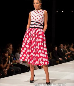 Barbizon Red Bank model Joelle walked in Atlantic City Fashion Week