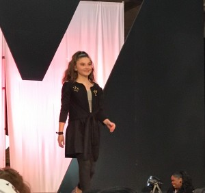Barbizon Red Bank model Mia walked in Detroit Fashion Week