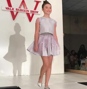 Barbizon Red Bank model Mia walked in New York Fashion Week