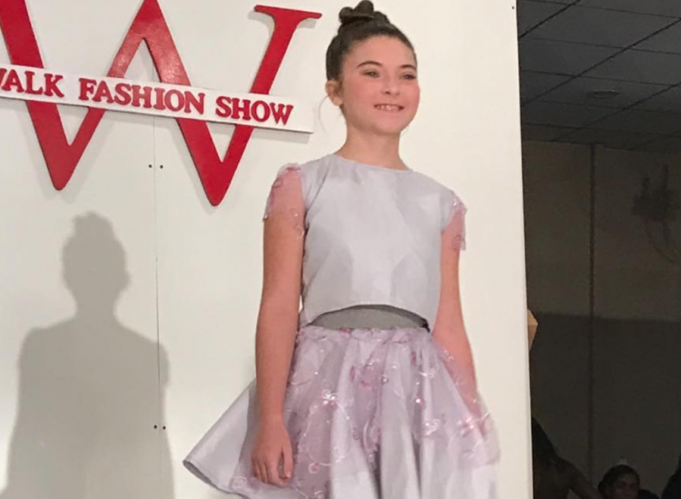 Barbizon Red Bank model Mia walked in New York Fashion Week