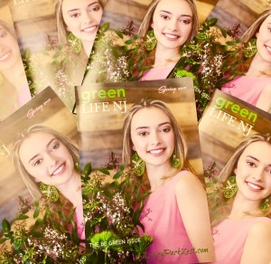 Barbizon Red Bank model Rebecca booked the cover of Green Life NJ Spring issue