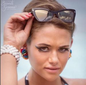 Barbizon Red Bank model Sarah booked a photo shoot for Beauty x Bracelets
