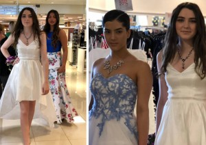 Barbizon Red Bank models booked a prom fashion show at Macy's Ocean County Mall