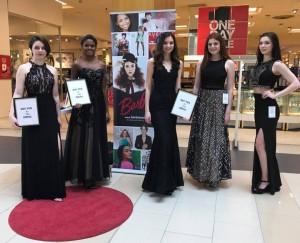 Barbizon Red Bank models showed prom gowns at Macy's in Monmouth Mall