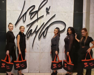 Barbizon Red Bank models walked in a local Lord & Taylor show