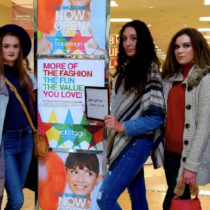 Barbizon Red Bank models worked a promotional event at Macy's with Girls' Life Magazine and Jou Jou1