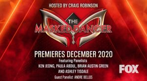 Promotional poster for the Masked Singer with Andre's name