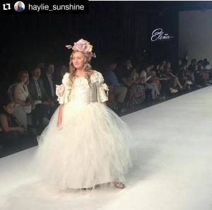 Barbizon Socal Grad Haylie N. walked in Style Fashion Week in New York City