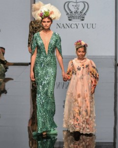 Barbizon Socal Grad Victoria walked the runway for Nancy Vuu