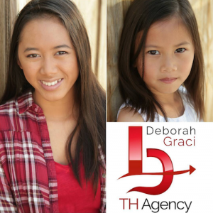 Barbizon Socal alum Alicia and Allison Nguyen signed with Talent Hunters Agency for commercials, TV and film