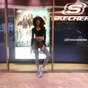 Barbizon Socal alum Fancy is in a campaign for Sketchers