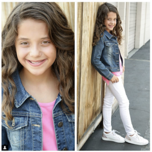 Barbizon Socal alum Jenna Pepaj signed with Across The Board Talent Agency and Rage Models and Talent - Kids Division