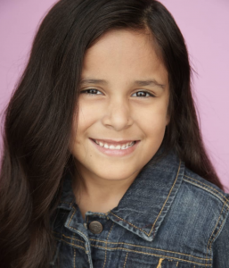 Barbizon Socal alum Natalie Gonzalez signed with Youth Talent Connection for commercials, theater and print