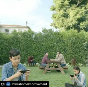 Barbizon Socal alum Victoria Anaya can be seen in a new Lowe's commercial