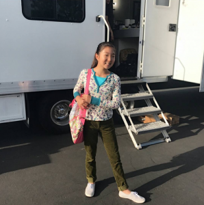Barbizon Socal alum Yunah Chung booked a new commercial. She is signed with ATB Talent Agency Youth Division
